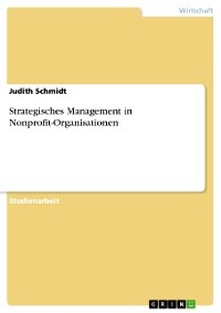 Cover Strategisches Management in Nonprofit-Organisationen