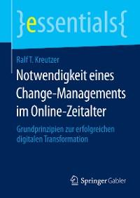 Cover Notwendigkeit eines Change-Managements im Online-Zeitalter