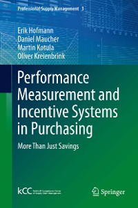 Cover Performance Measurement and Incentive Systems in Purchasing