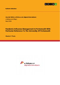 Cover Pandemic Influenza Management In Portsmouth With Particular Reference To The University Of Portsmouth