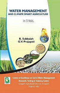 Cover Water Management and Climate Smart Agriculture Vol -III