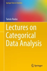Cover Lectures on Categorical Data Analysis