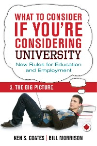 Cover What To Consider if You're Considering University — The Big Picture