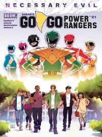 Cover Saban's Go Go Power Rangers, Issue 21