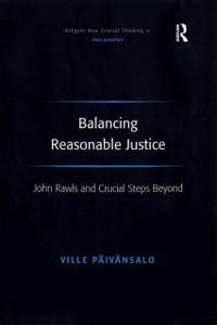 Cover Balancing Reasonable Justice
