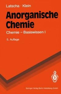 Cover Anorganische Chemie
