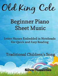 Cover Old King Cole Beginner Piano Sheet Music