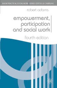 Cover Empowerment, Participation and Social Work