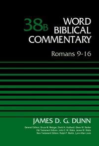 Cover Romans 9-16, Volume 38B