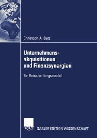 Cover Unternehmensakquisitionen und Finanzsynergien