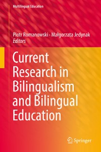Cover Current Research in Bilingualism and Bilingual Education