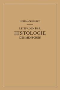 Cover Leitfaden der Histologie des Menschen