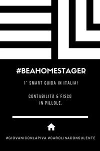 Cover #BEAHOMESTAGER: Contabilità & Fisco in pillole. Volume I