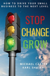 Cover Stop, Change, Grow