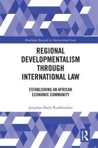 Cover Regional Developmentalism through Law