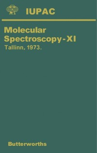 Cover Molecular Spectroscopy-XI