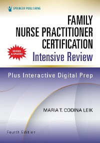 Cover Family Nurse Practitioner Certification Intensive Review, Fourth Edition