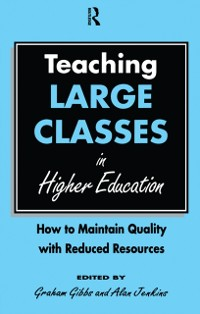 Cover Teaching Large Classes in Higher Education