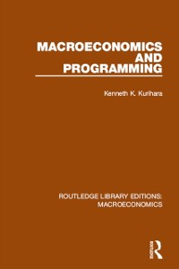 Cover Macroeconomics and Programming