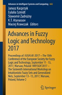 Cover Advances in Fuzzy Logic and Technology 2017
