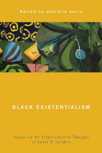 Cover Black Existentialism