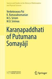 Cover Karaṇapaddhati of Putumana Somayājī