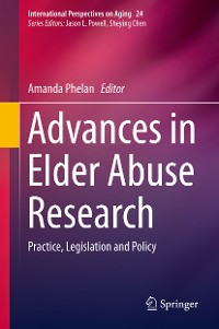 Cover Advances in Elder Abuse Research