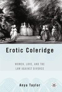 Cover Erotic Coleridge