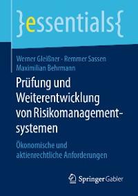 Cover Prüfung und Weiterentwicklung von Risikomanagementsystemen