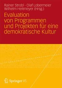 Cover Evaluation von Programmen und Projekten für eine demokratische Kultur