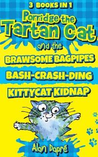 Cover Porridge the Tartan Cat Books 1 to 3