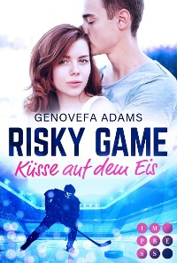 Cover Risky Game. Küsse auf dem Eis