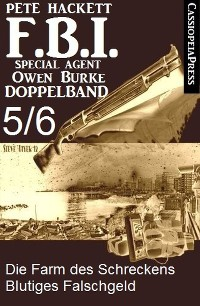 Cover FBI Special Agent Owen Burke Folge 5/6 - Doppelband