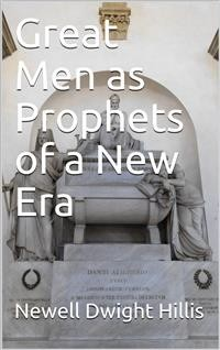Cover Great Men as Prophets of a New Era