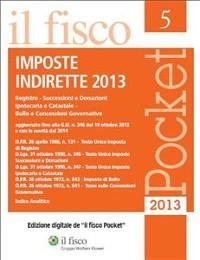 Cover Imposte indirette 2013