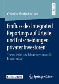 Cover Einfluss des Integrated Reportings auf Urteile und Entscheidungen privater Investoren