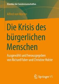 Cover Die Krisis des bürgerlichen Menschen