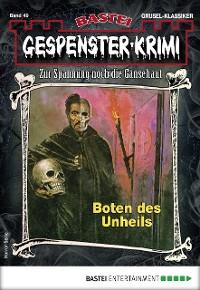 Cover Gespenster-Krimi 49 - Horror-Serie