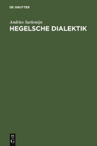 Cover Hegelsche Dialektik