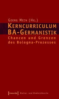 Cover Kerncurriculum BA-Germanistik