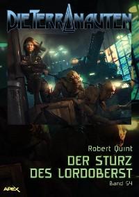 Cover DIE TERRANAUTEN, Band 54: DER STURZ DES LORDOBERST