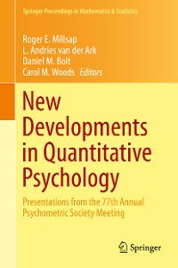 Cover New Developments in Quantitative Psychology