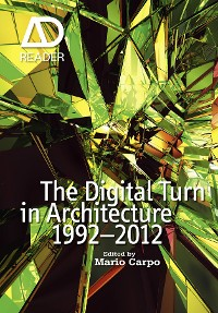 Cover The Digital Turn in Architecture 1992 - 2012