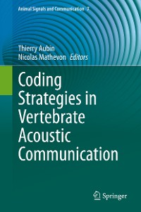 Cover Coding Strategies in Vertebrate Acoustic Communication