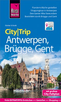 Cover Reise Know-How CityTrip Antwerpen, Brügge, Gent