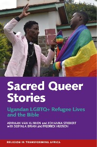 Cover Sacred Queer Stories