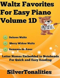 Cover Waltz Favorites for Easy Piano Volume 1 D