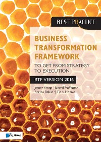 Cover Business Transformation Framework - To get from Strategy to Execution