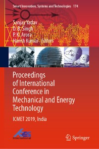 Cover Proceedings of International Conference in Mechanical and Energy Technology