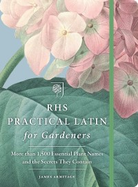 Cover RHS Practical Latin for Gardeners